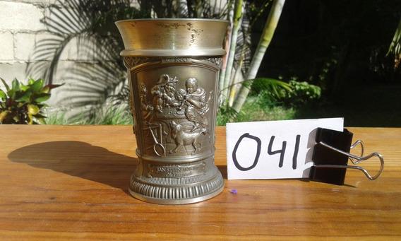 Vaso Copa Caliz Medieval Vino Estaño Vikingo Alemania 041