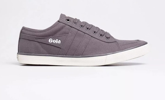 Zapatillas Gola Comet Canvas Gris/gris Originales