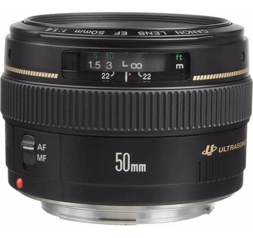 Lente Canon Ef 50mm F/ 1.4 Usm +nf