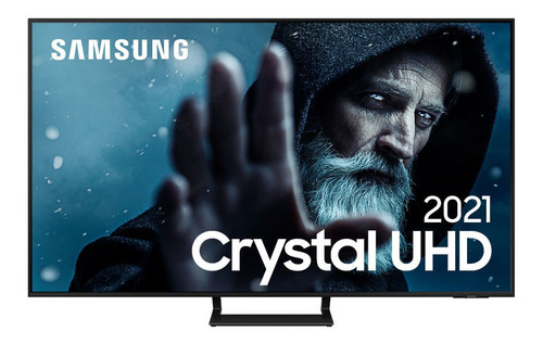 Imagem 1 de 7 de Smart Tv Samsung 55'' Uhd Processador Crystal 4k Au9000