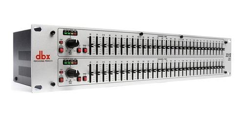 Equalizador Grafico Dbx 231s Stéreo 31 Bandas 2 Canai Bivolt