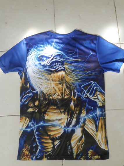 Camisa Iron Maiden Live After Death Sublimada
