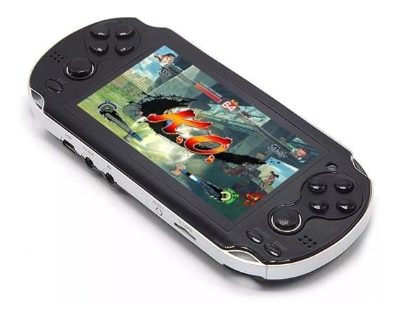 Mini Game Portátil 10mil Jogos Player Mp3 Mp4 Mp5 Psp X8