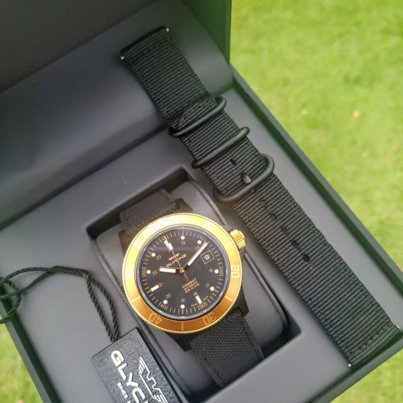 Relógio Glycine Gl0093 42mm Automático Diver Impecável