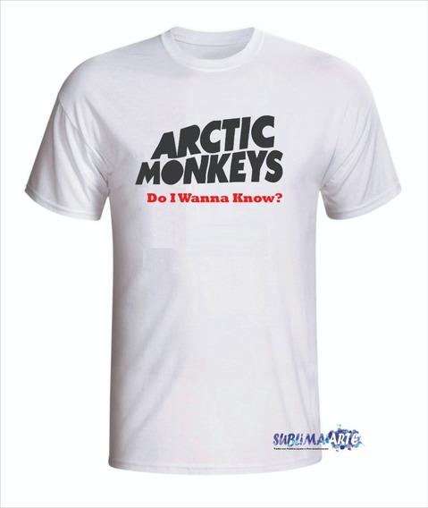 Camiseta Personalizada Arctic Monkeys - Em Promoção