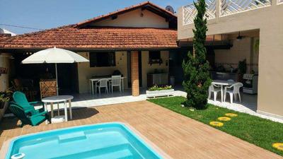 Casa Com 3 Dorms, Piscina, Próxima À Praia - Cod: 326 - V326