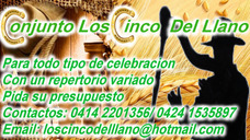 Musica Llanera Los Cinco Del Llano