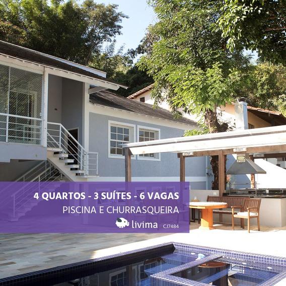 Casa À Venda Na Rua Timboaçu Em Freguesia (jacarepaguá), Rio De Janeiro - Rj - Liv-0794