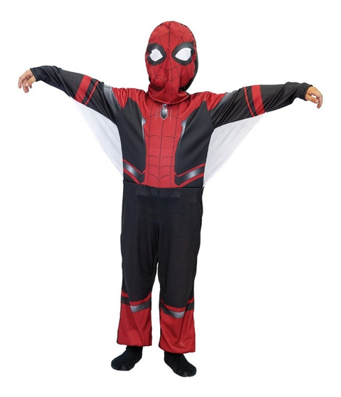 Disfraz Infantil Spiderman Pelicula 2019 C/luz