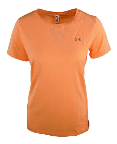Remera Under Armour Running Heatgear Mujer