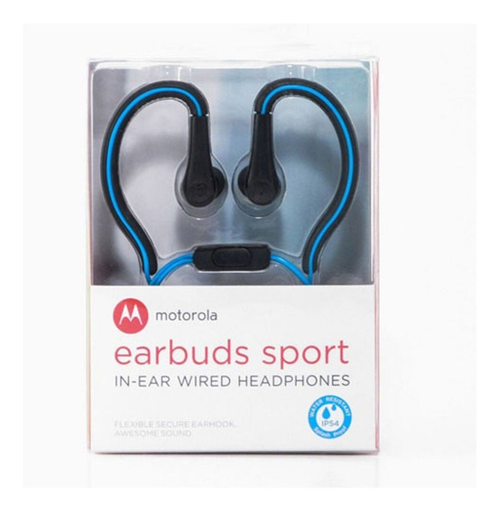 Fone Ouvido Original Motorola Earbuds Sport Melhor Preço