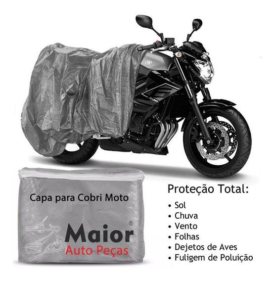 Capa Cobrir Moto Honda Cg 160 Impermeável Proteção Anti Uv