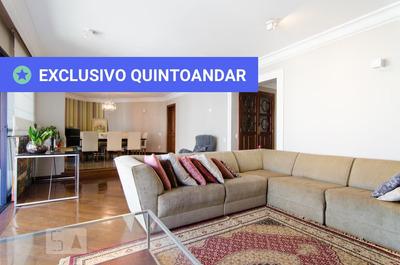 Apartamento No 10º Andar Mobiliado Com 4 Dormitórios E 3 Garagens - Id: 892806147 - 106147
