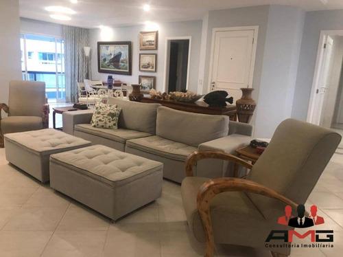 Apartamento Com 5 Dormitórios À Venda, 244 M² Por R$ 2.600.000,00 - Riviera - Módulo 6 - Bertioga/sp - Ap2861