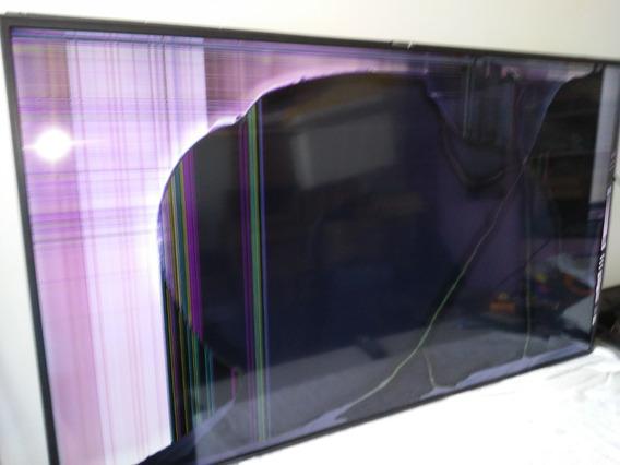 Tv Samsung Modelo Un55nu7100g Display Quebrado