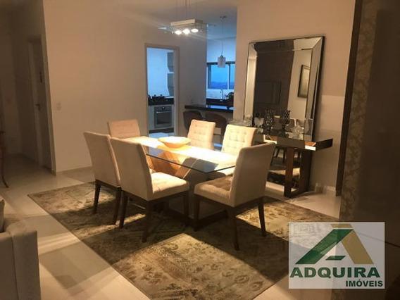 Apartamento Padrão Com 3 Quartos No Edifício Torres Cezanne - 4791-v