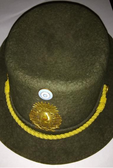 Sombrero Galera Gorra Militar De Mujer Del Ejército