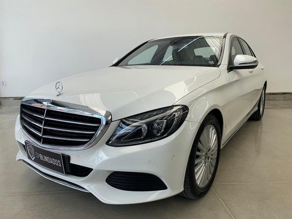 Mercedes C180 Exclusive 1.6t 2018 Blindado Cart Vidros B33