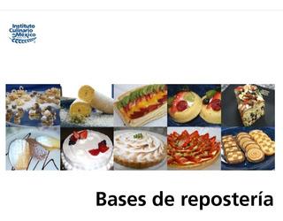 Bases De Repostería - Libro Digital Pdf