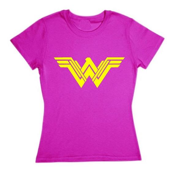 Playera Mujer Maravilla Wonder Woman Dc Comics Dama