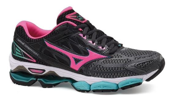 Tenis Mizuno Wave Creation 19 Feminino Original +nota Fiscal