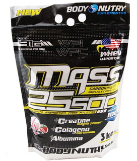Mass 25500 - 3 Kg - Body Nutry