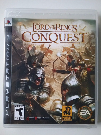 Lord Of The Rings Conquest Ps3 M. Física Original Perfeito