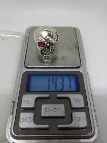 Anel De Prata 950 Maciça