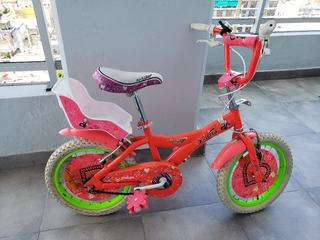 Bicicleta X-terra Modelo Rock Star Rodado 16 Nena