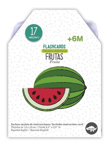 Imagen 1 de 5 de Flash Cards Frutas - Kocodío