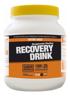 Recovery Drink X 1500grs Nutremax Recuperacion Aminoacidos