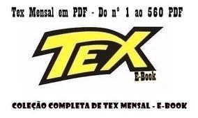 Gibi / Revista Tex - Coleção Completa Hq Digital