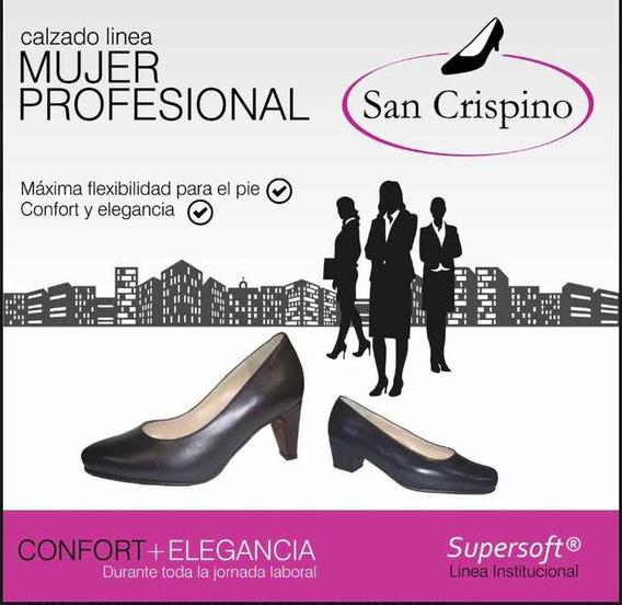 Zapatos Bajos Y Altos San Crispino N38