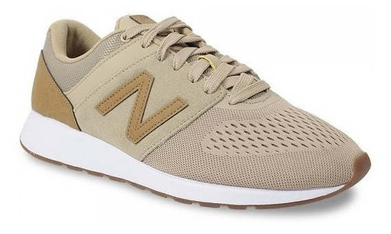 Tênis Casual New Balance 24 Masculino - Bege/caramelo