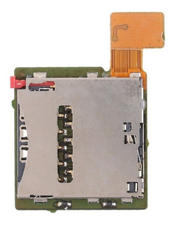 Flex Leitor Chip Sim Card Sony Xperia T2 Ultra Conector Slot