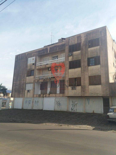 Apartamento Com 1 Dormitório À Venda, 48 M² Por R$ 139.000,00 - Centro - Gravataí/rs - Ap0088