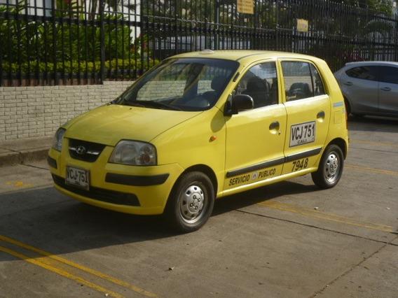 Taxi Hyundai Atos 2006 Con Aire Solo A Gasolina