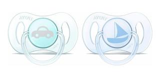 Chupetes Avent 0-2m X2unid. Nene Y Nena - Bemar Babys