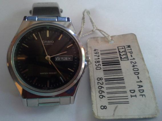 Relógio Casio Mtp-1240d-1adf Analógico