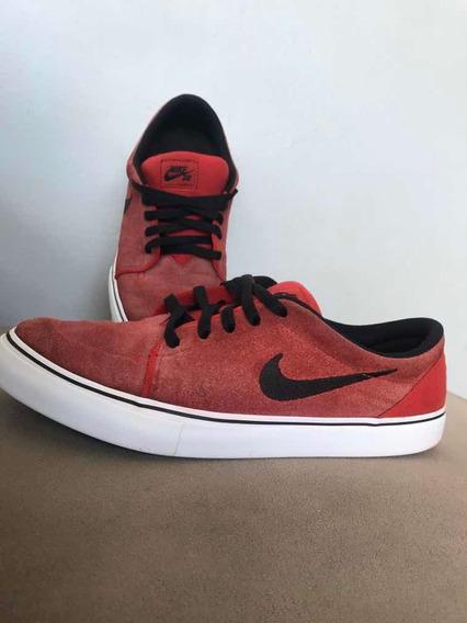 Tênis Nike Sb Portmore Solar Masculino - Masculino- Vermelho