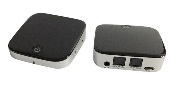Bti029 2em1 Transmissor Receptor Áudio Bluetooth P2 E Spdif