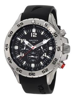 Reloj Nautica Silicona Caballero N14536g Original