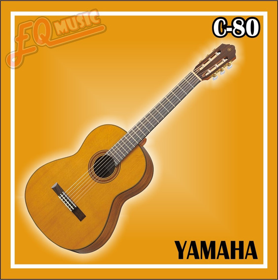 Guitarra Yamaha C-80 + Estuche Nuevas Y Selladas