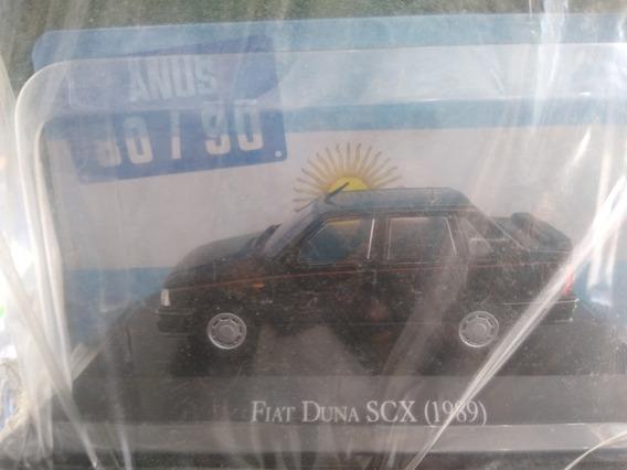 Autos Inolvidables Argentinos 80/90 Nro 14 Fiat Duna Scx