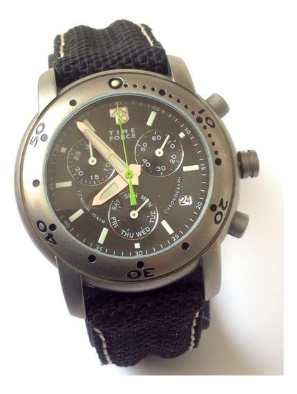 Reloj Time Force Cuarzo. Crono. Año 2003 ¡impecable!
