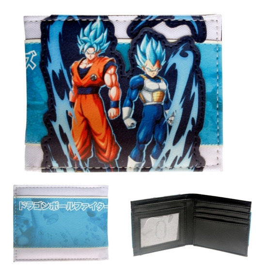 Cartera Goku Vegeta Super Sayayin Blue Original Dragon Ball