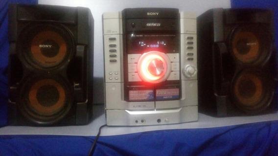 System Sony Mhc-rg190 Com Caixas De Som E Bluetooth