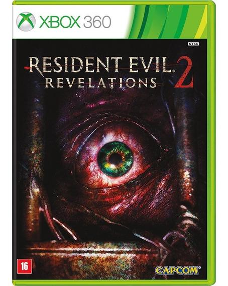 Jogo Xbox 360 Resident Evil 2 Revelations