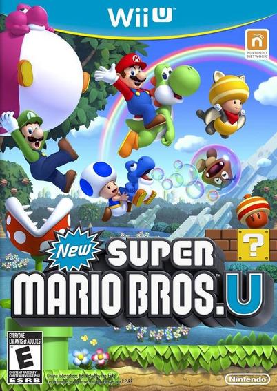 New Super Mario Bros. U - Semi Novo - Wii U - Gamercado
