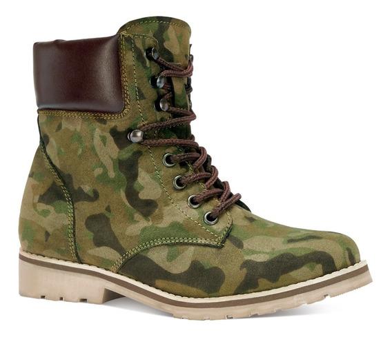 Misty Botines Camuflaje Militar Textura Moda 3720431
